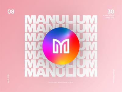 #8 M logomark