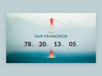 Daily UI #014 – Countdown