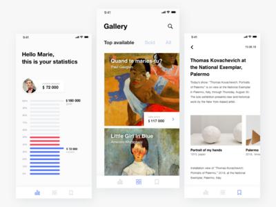 App for art dealers