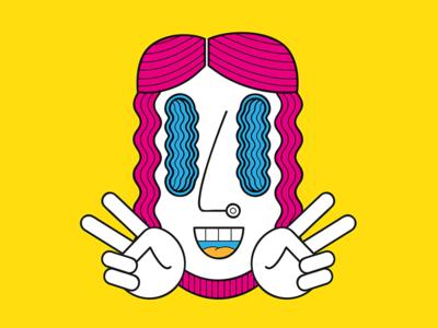 Jesus Santos — Mascot developed for a club night. illustrator vector tropical rio art direction character design illustration