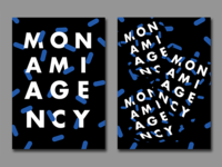 Monami Launch Party — Posters & Visual Identity