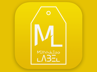 App Icon - Clothing Label