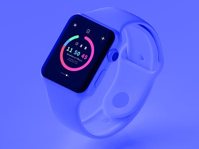 Smart Watch Countdown Timer apple watch smart watch smart watch apple countdown timer design ui