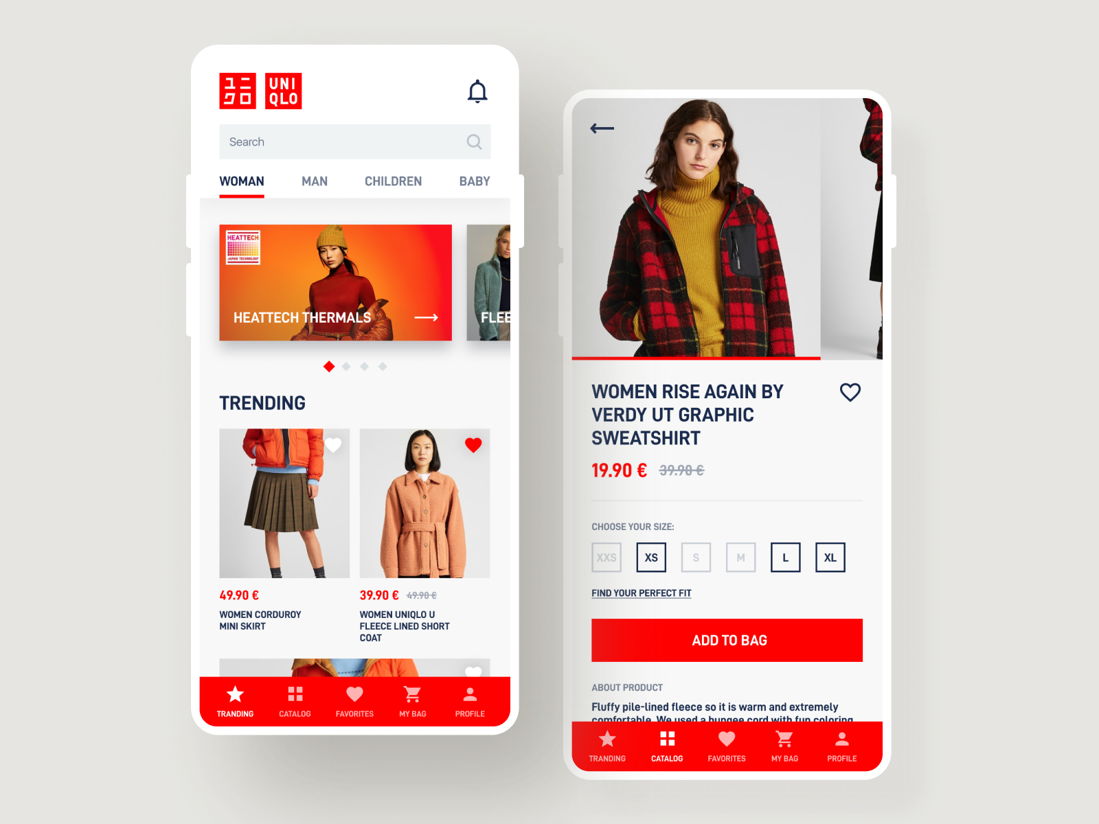 Uniqlo Mobile App Concept By Alee On Dribbble