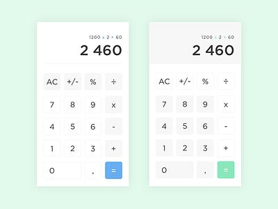 Calculator #004 uidesign calculator challenge 004 dailyui