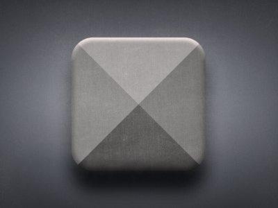 Icon app ios design ui ux texture icon