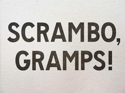 Mission Gothic typeface type design vintage sans gothic san francisco sf fieldtripsf city gramps grandpa scrambo field trip sf sans serif