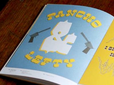 Dude: Pancho & Lefty gun ampersand illustration book print dude grayhood lost type lost type coop western guns cowboys