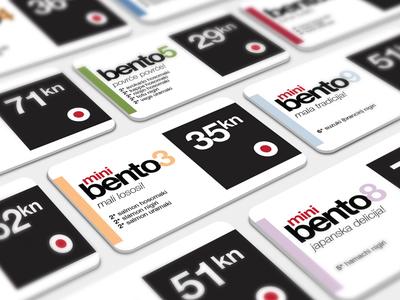 Bento Price Cards