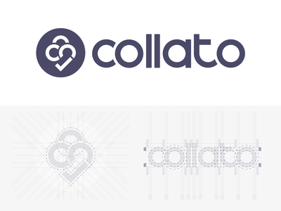 Collato logo project management collaboration figma vector logotype branding logo