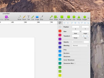 Sketch app - custom color panel sketchapp scheme palette bar panel colour color bohemian app sketch