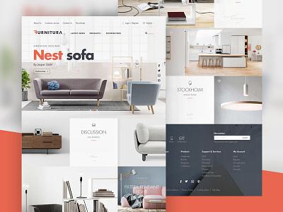 Furnitura (Hero image) home grid website sofa room product modern house furniture chair