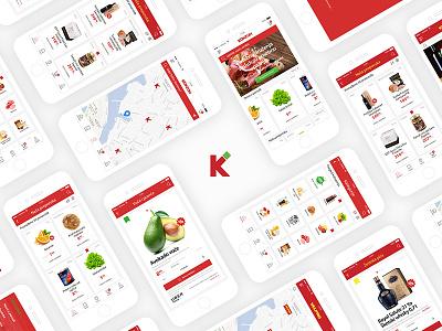 Grocery mobile store agrokor market food uber yacht konzum app mobile store grocery