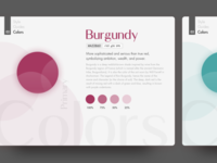Colours - Building a Style Guide