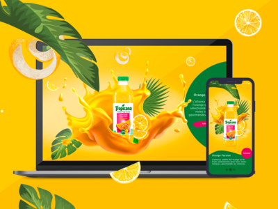 School Project | Tropicana Redesign
