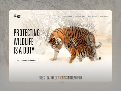 Roars - Protecting Wildlife is a duty