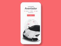Premium Cars App UI