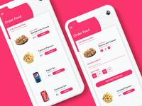 Movie App UI (Food Ordering)