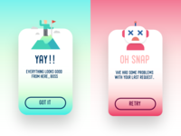 Flash Message :: Daily UI :: 011