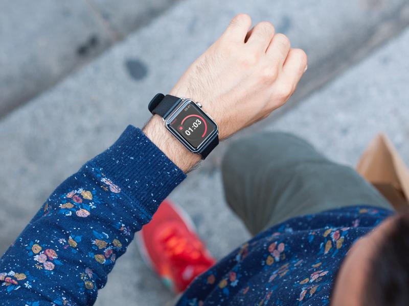 Countdown Timer :: Dailyui :: 014 014 dailyui countdown smartwatch watch apple timer