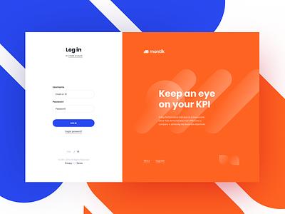 E-commerce Project Login 💎 white clean blue imput pop-up registration mantik orange login