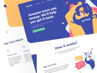 Refundlabs: Landing page 💎