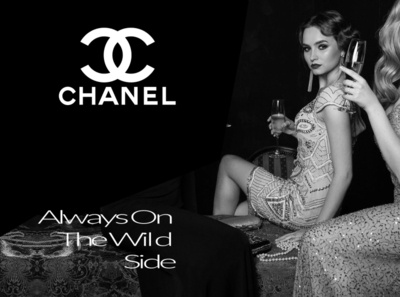 WOMAN CHANEL ADVERTISING 2020 CAMPAIGN / B2C typography dribble ux branding ux design arvers digitaldancingwordsrecords logo adobe interactivity ui ux frederic