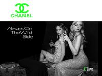 CHANEL WOMEN COLLECTION 2020 ADVERTISING CAMPAIGN frederic asics interactivity ui ux digital adobe interactivity ui ux logo design branding logotype digitaldancingwordsrecords arvers