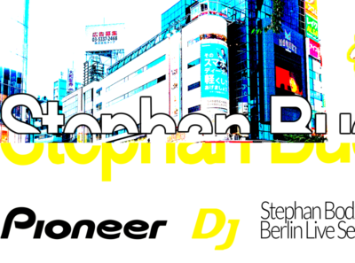 STEPHAN BODZIN / DJ SET @ BOILER ROOM / BRANDING typography branding behance asics interactivity ui ux digital dribble ux adobe interactivity ui ux digitaldancingwordsrecords frederic arvers