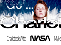 CHARLOTTE DE WITTE / MY FEELING / Branding typography behance design digitaldancingwordsrecords branding ux dribble ux digital ui frederic arvers