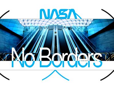 NASA FASHION SERIES logo typography ux branding behance dribble ux ui frederic digitaldancingwordsrecords arvers