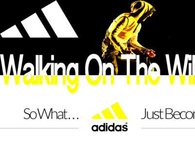ADIDAS logotype typography ux branding adobe interactivity ui ux dribble ux digitaldancingwordsrecords ui arvers frederic