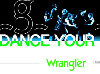 WRANGLER typography adobe interactivity ui ux behance ux branding logotype ui digitaldancingwordsrecords frederic arvers