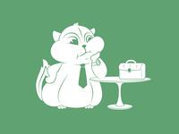 Very busy chipmunk