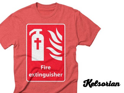Fire Extinguisher For Hell