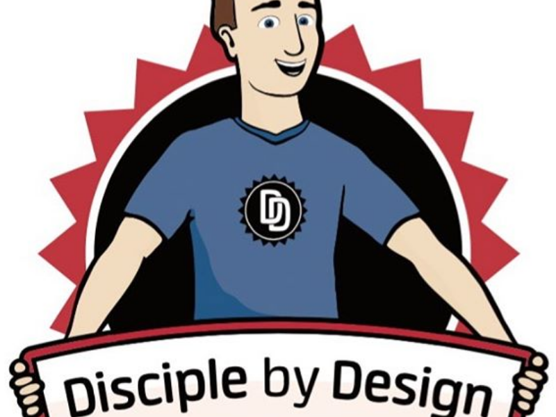 Disciple by Design Logo christianart christiangraphics christianlogos christiancharacter christiancartoon christianlogo christianity christian