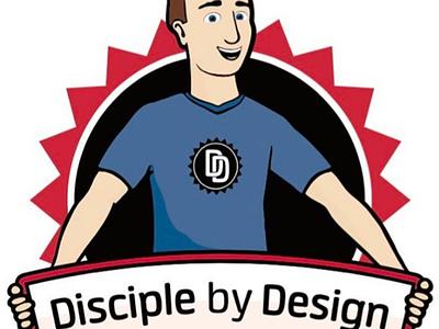 Disciple by Design Logo christianart christiangraphics christianlogos christiancharacter christiancartoon christianlogo christianity christian