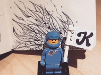 Kelsorian  Illustration & Benny Lego Man!