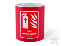 Fire Extinguisher - #SignsoftheTimes Series