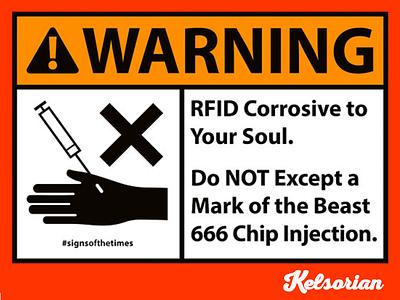666 Soul Corrosion - #SignsoftheTimes Series christian art mark of the beast 666 christian signs christian graphics christian design christianity christian signsofthetimes