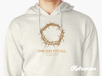 One Size Fits All Hoodie