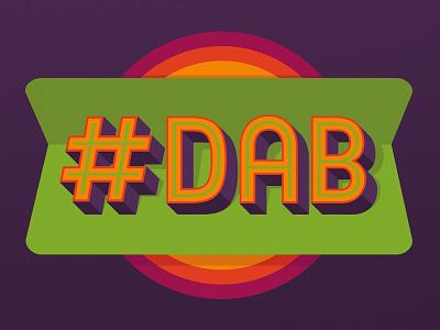 DAB Retro Logo Slogan dab on em cam newton shirt dab design dab clothing lines dab clothing cute t shirts custom t shirts uk cool tees cool tee shirts cool t shirts for men cool t shirts cool t shirt designs cool graphic tees