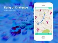 Daily Ui Challenge Location Tracker