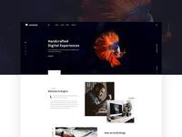 Huginn - Agency Homepage