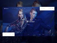 Eikthyrnir - Fashion Store Landing Concept