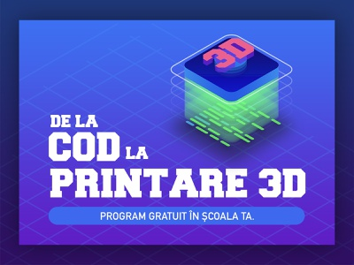 From Code to 3d Print poster gradients grids code 3d