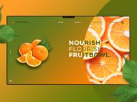 FruitBowl UI webDesign