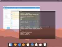 Minimal OSX Desktop
