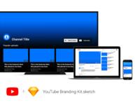 Youtube Branding Kit for Sketch
