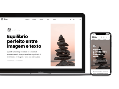 Zen Read WordPress Theme Desktop X Mobile diagramation topography all type clean minimal theme wordpress wp